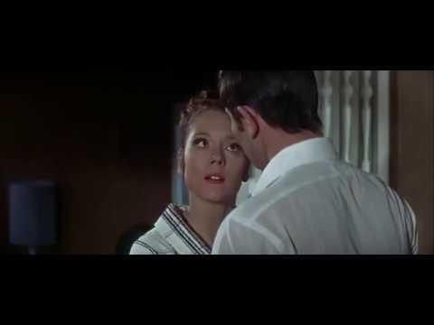James Bond and Diana Rigg