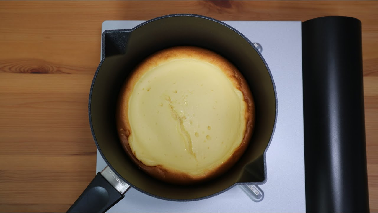 作る チーズ で ケーキ フライパン