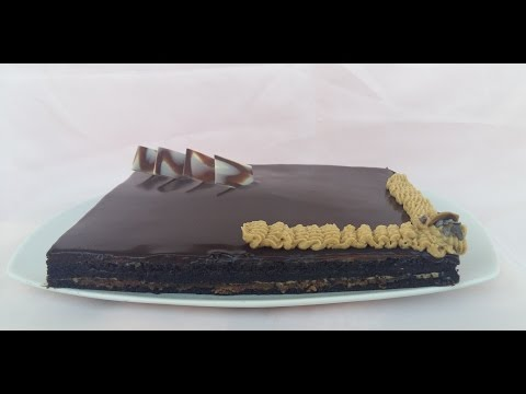 حلوى-الأوبرا-مذاق-ولا-أروع-|-gâteau-opéra-facile
