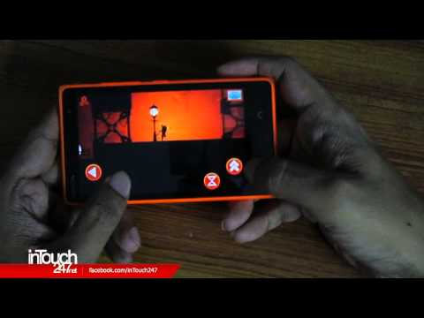 Oscura Second Shadow Android Game on Nokia X2