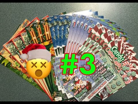 #3 | Holiday Pennsylvania Lottery Scratch Off Tickets