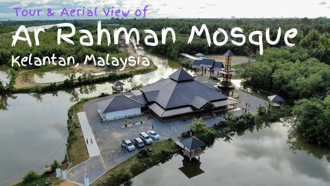 Masjid Arrahman Pulau Gajah Kelantan Dji Mavic 2 Zoom Youtube