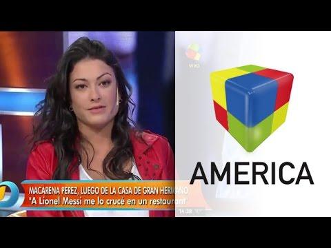 Macarena de GH habló de Riquelme, Tevez y el Cuqui Silvera
