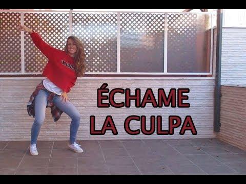 ECHAME LA CULPA COREOGRAFIA Luis Fonsi Demi Lovato ZUMBA