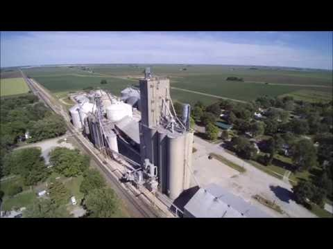 Central Illinois from the Sky- Drone Video