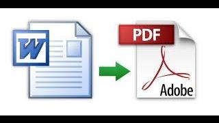 Converter Word para PDF ( no celular )