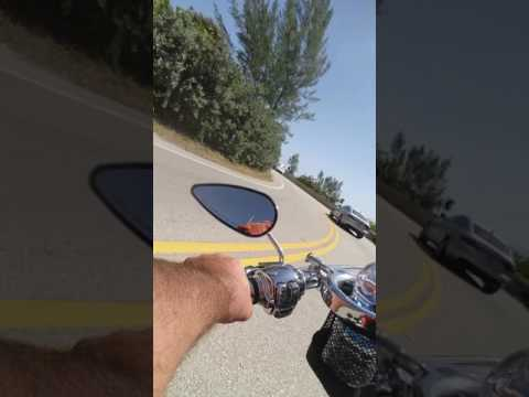 Realtor Eddy Shipek motorcycle tour of South Ocean Blvd Palm Beach 561-693-8636