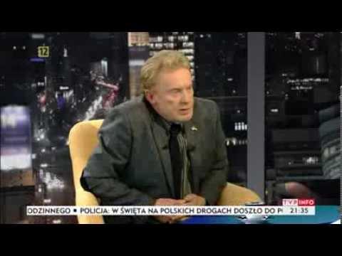"""Daniel Olbrychski: """"Miłość, nawet homoseksualna, jest piękna"""" (TVP Info, 27.12.2013)"""