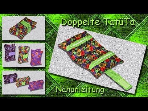 Doppelte TatüTa nähen / double tissue pocket DIY