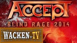 Скачать Accept Trailer Blind Rage Tour 2014 German Dates