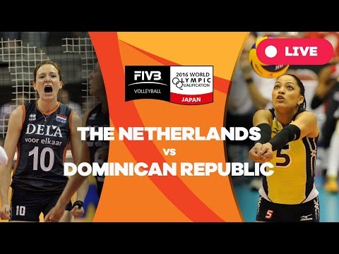 Netherlands v Dominican Republic - 2016 Women's World Olympic Qualification Tournament