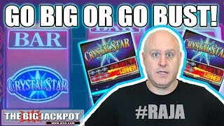 Will Crystal Star Pay Out BIG? Go BIG or Go BUST | The Big Jackpot