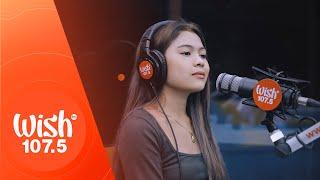 """Lyca Gairanod performs Kabilang Buhay"""" LIVE on Wish 107.5 Bus"""
