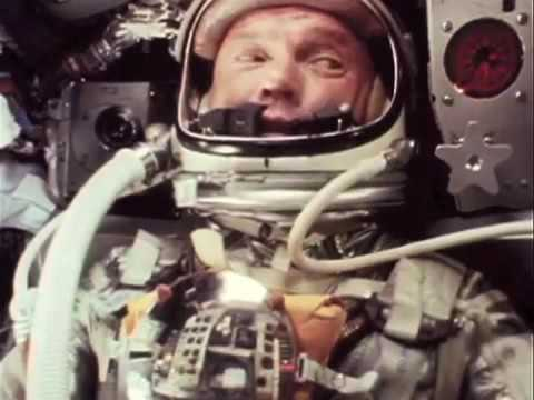 John Glenn: Friendship 7 re-entry | Synchronized film, audio