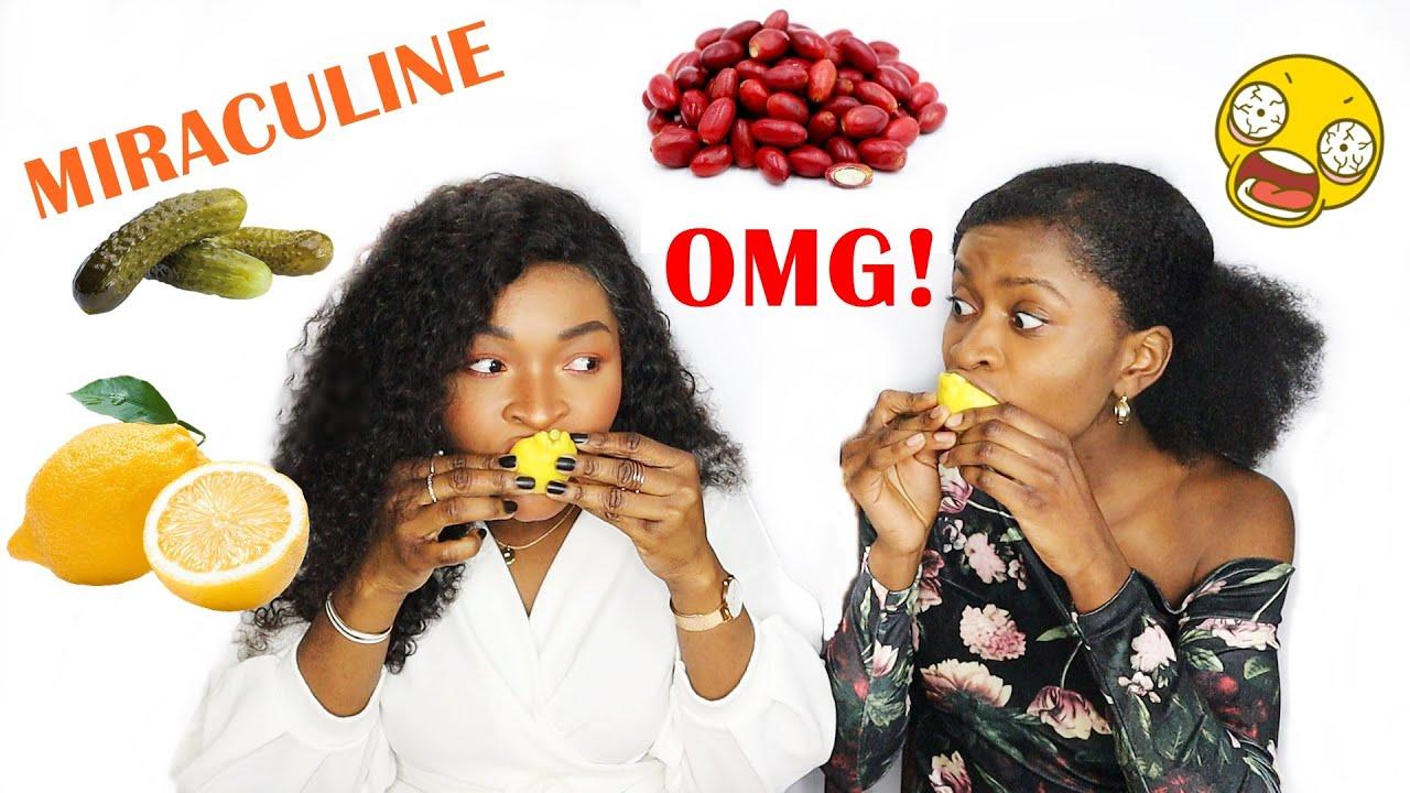 """ON PREND DE LA MIRACULINE 😱 Test du """"Fruit Miracle"""" qui change TOUS les goûts ?! 🤯🍋 Ft Desenio"""