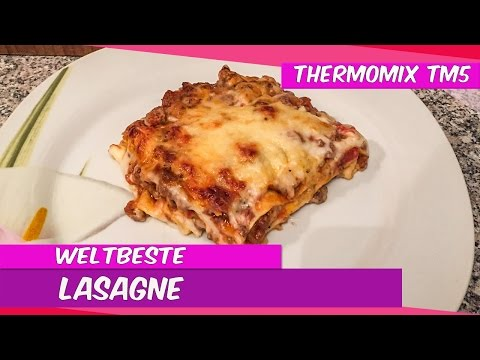 ♨Thermomix® TM5®♨ Weltbeste Lasagne aus der Rezeptwelt