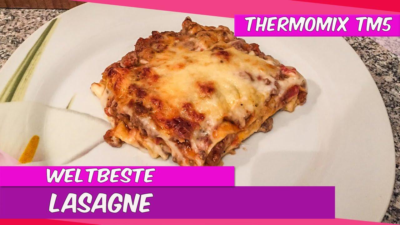 thermomix tm5 weltbeste lasagne aus der rezeptwelt youtube. Black Bedroom Furniture Sets. Home Design Ideas