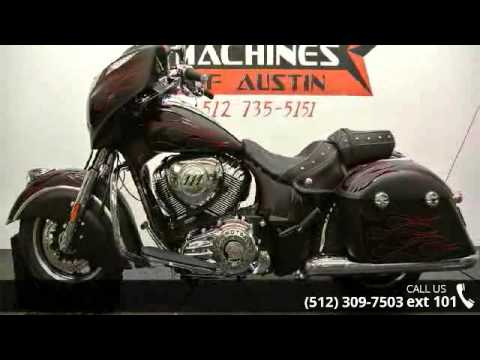2015 Indian Chieftain One Of A Kind Custom Paint