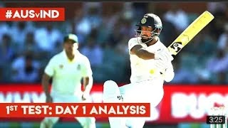Pujara 100* vs Australia    India vs Australia Test