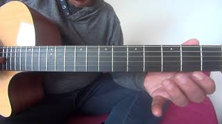 The Reason - Hoobastank Acoustic guitar tutorial
