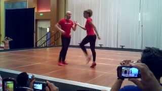 ataca y la alemana 2014 advanced salsa workshop