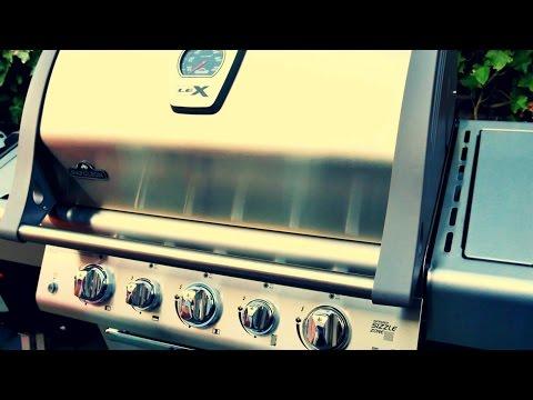 Napoleon Holzkohlegrill Pro605rbcss : Grillpapst tv präsentiert napoleon mirage youtube