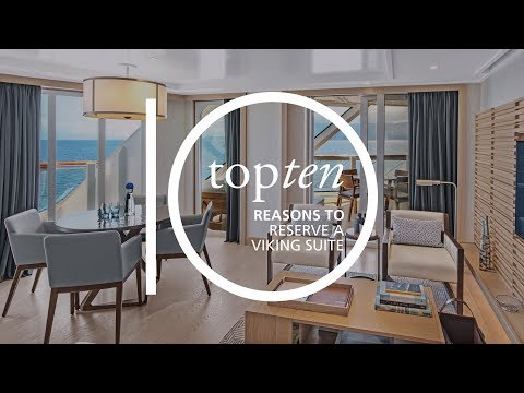 Top 10 Reasons to Reserve a Viking Suite