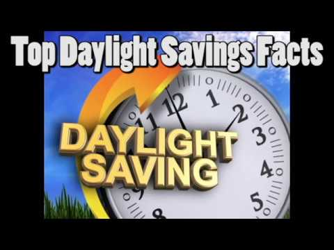 Top Facts about Daylight Saving Time