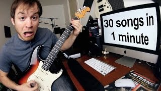 30 Songs in 1 Minute