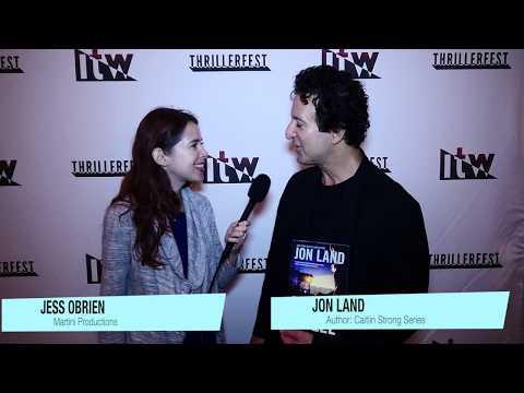 Interview with author Jon Land at ThrillerFest!