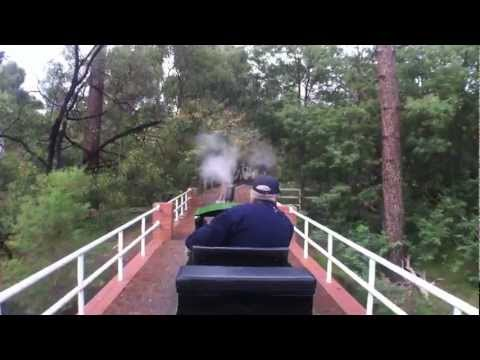 Train Ride - Front Seat on the Diamond Valley Railway (DVR) Eltham, Victoria