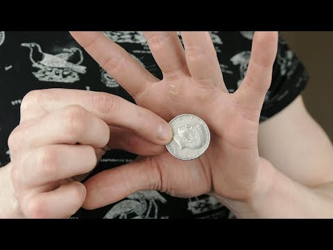 Vanishing COIN TRICK - TUTORIAL | TheRussianGenius