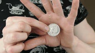 Gambar cover Vanishing COIN TRICK - TUTORIAL | TheRussianGenius