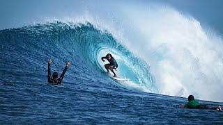 Le onde più grosse che abbia mai surfato - SURF alle isole MENTAWAIS - My first ever barrel