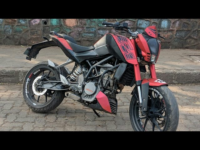 KTM DUKE 200 MODIFICATION ???? WRAPPING