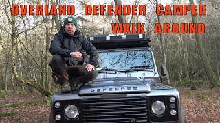 Land Rover Defender 110 Overland Camper Walk Around