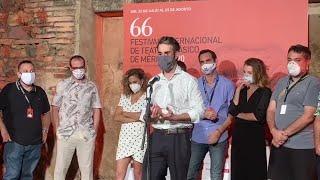 Daniel Muriel destaca que el Festival de Mérida hace posible que el teatro continue