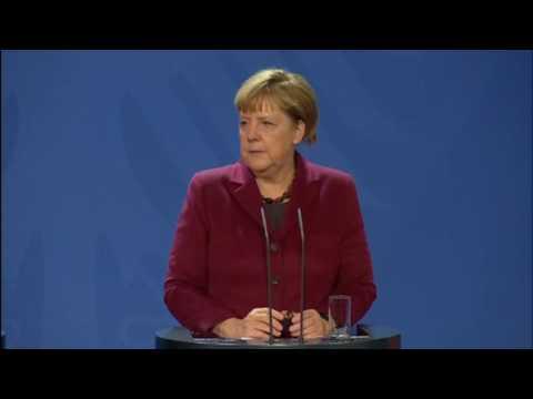 Merkel says development of road map on Ukraine will be difficult