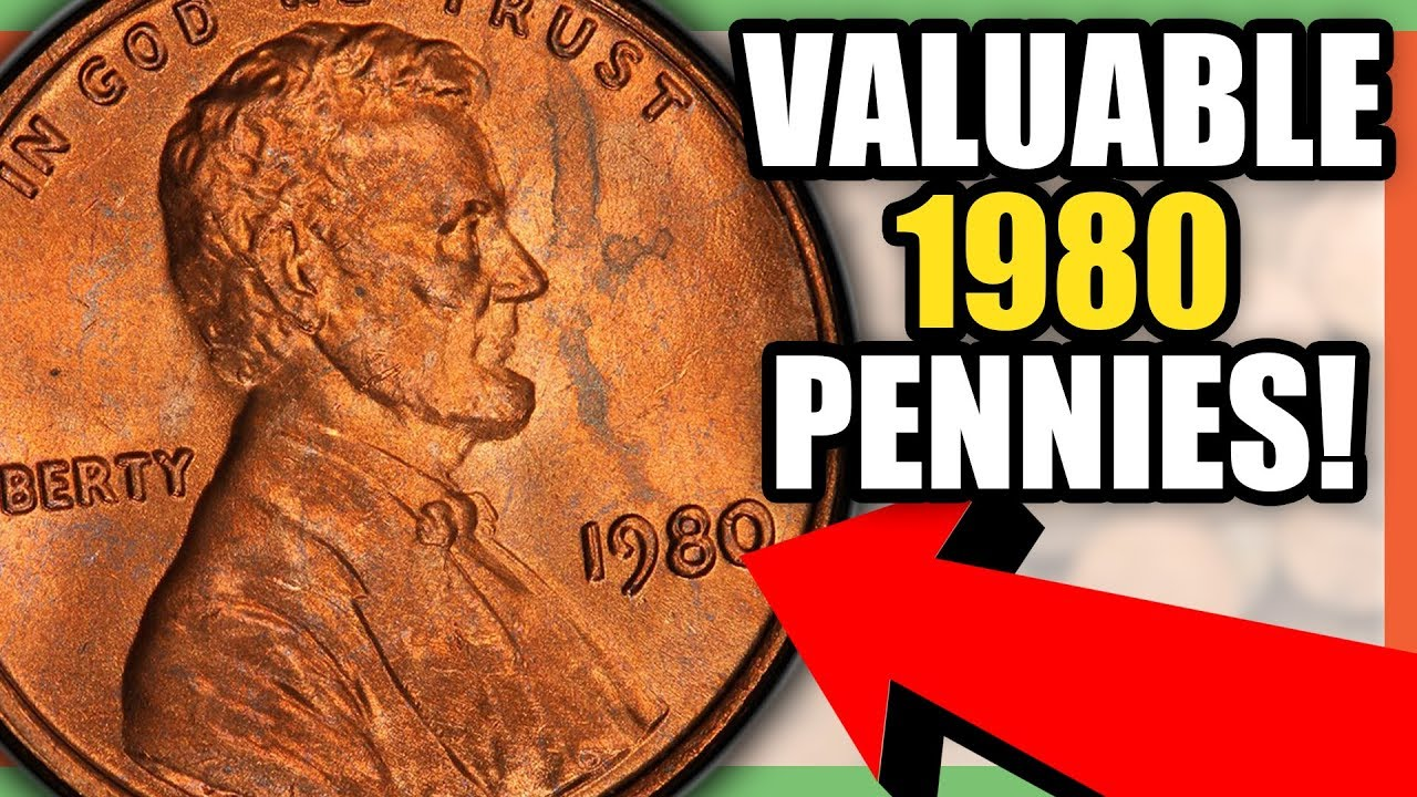 1980 PENNIES WORTH MONEY - 1980 LINCOLN PENNY VALUE!