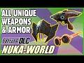 Unique Weapons Armor Guide DLC Fallout 4 Nuka World mp3