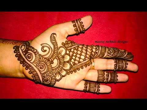 Mehndi Henna Buy : Easy simple mehndi henna designs for hands matroj