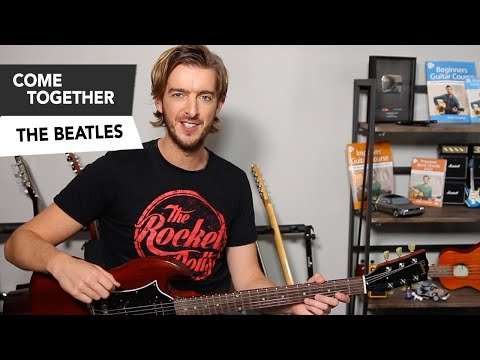 Come Together - Gary Clark Jr inspired Guitar Tutorial - The Beatles EASY Riffs