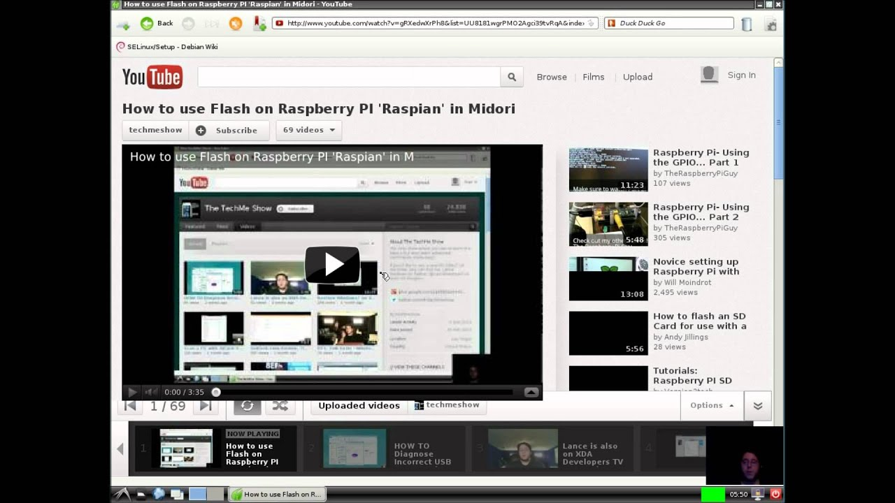 How to install the Midori Browser Raspberry Pi Stuff t