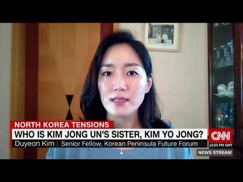 Kim Jong Un befodrar sin syster