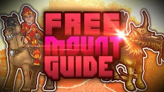 Wizard101: Free Mount Guide | How & Where To Get Free Mounts