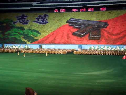 "Arirang Mass Games ""2"" - Pyongyang - 25/09/2010"