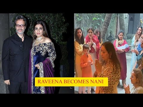 Raveena Tandon becomes Nani, shares ceremonious homecoming pics of newborn grandchild Mp3