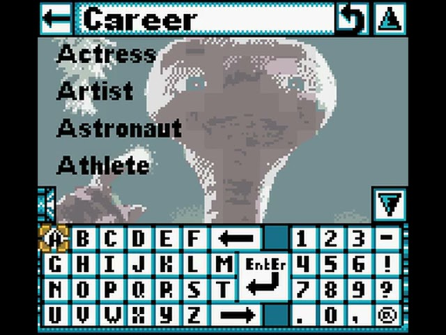 Game Boy Color Longplay [178] E.T. the Extra-Terrestrial: Digital Companion (US)