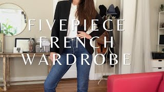 Classic French Style Clothing | Five Piece French Wardrobe
