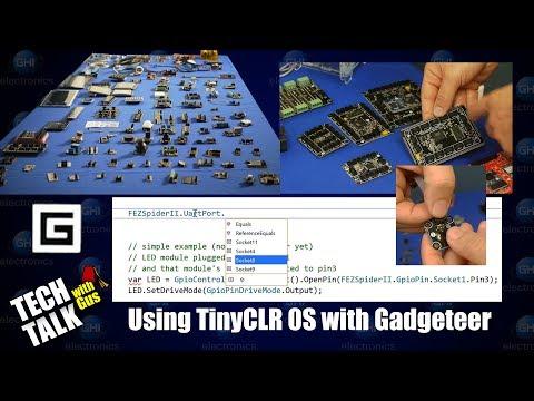 Using TinyCLR OS with Gadgeteer - Tech Talk 042